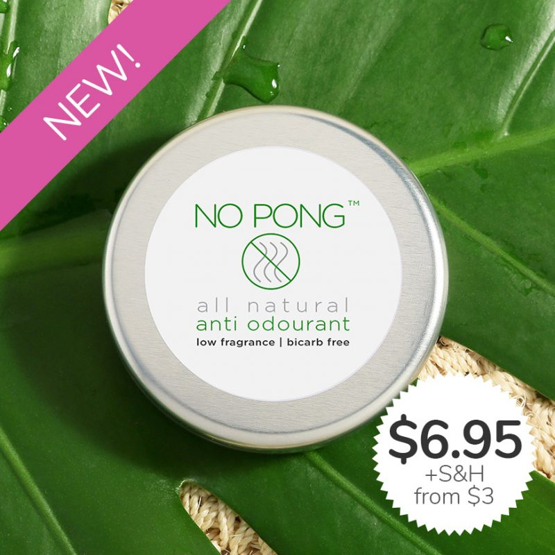 No Pong - Choose Your Favourite Natural Deodorant Here